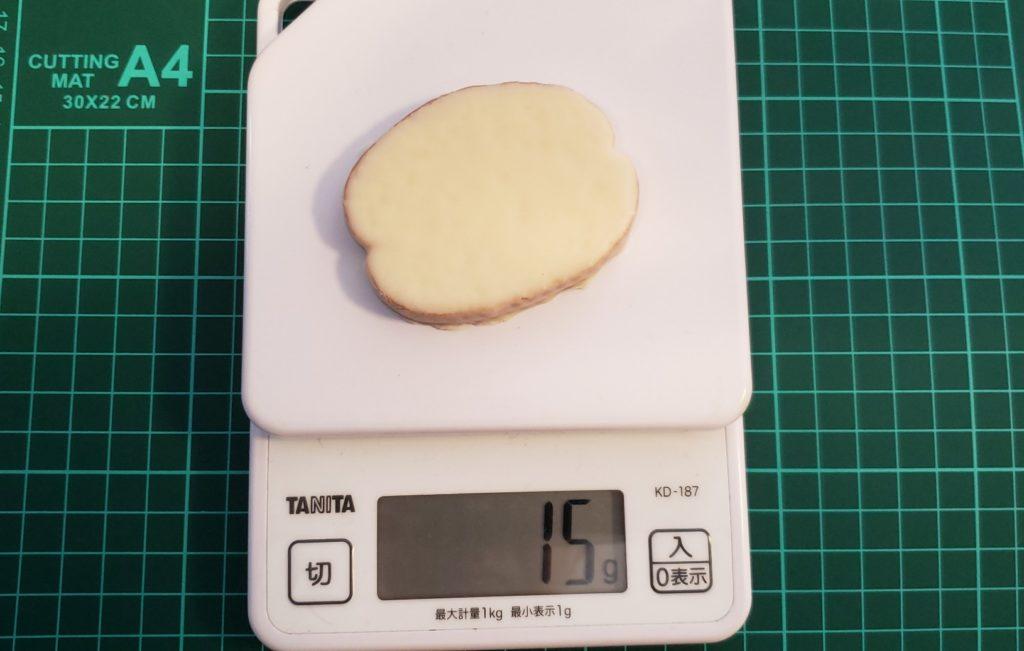 ホワイトチョコ重量