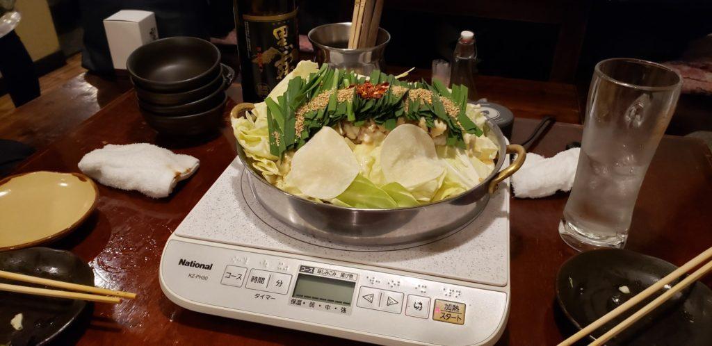もつ鍋(白味噌)①