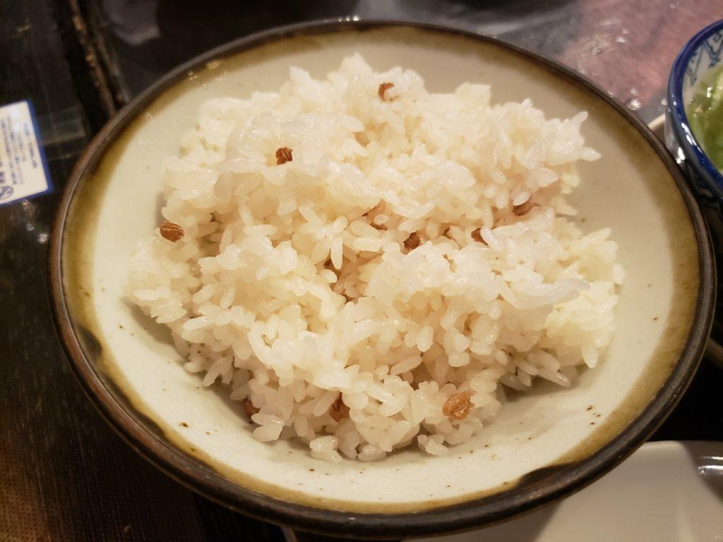 焦がし麦飯